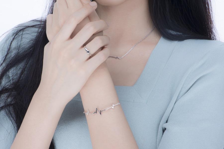 心跳 手链-杜若wear-01