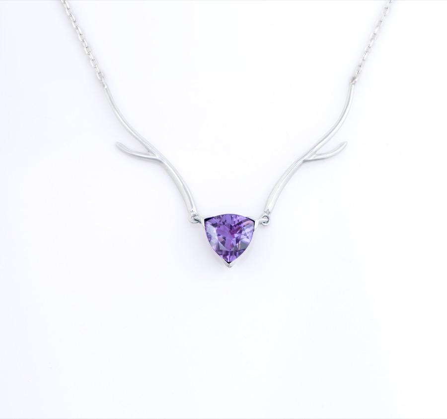 鹿娜紫晶款项链-01