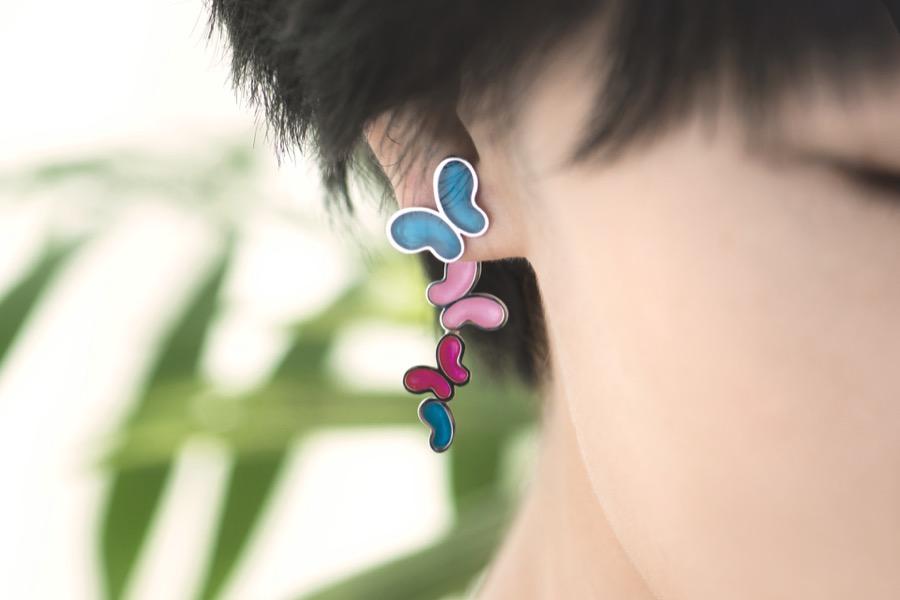 Alterfly earring-left