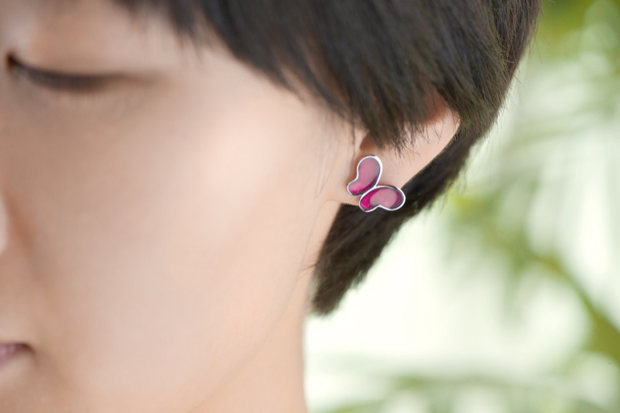 Alterfly earring-right pin