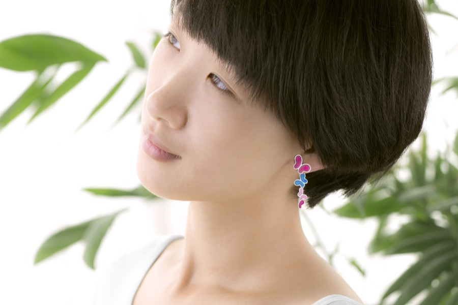 Alterfly earring-right