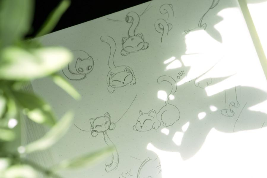 Miumu pendant-sketch