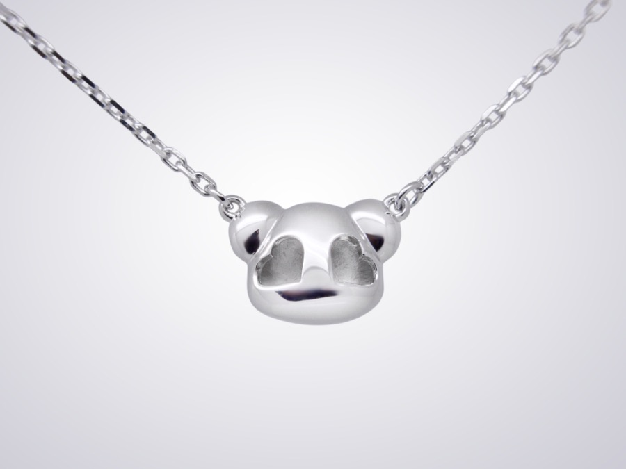 pandaa pendant-back