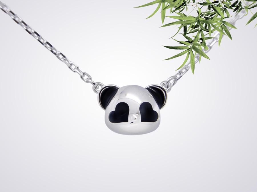 pandaa pendant-front
