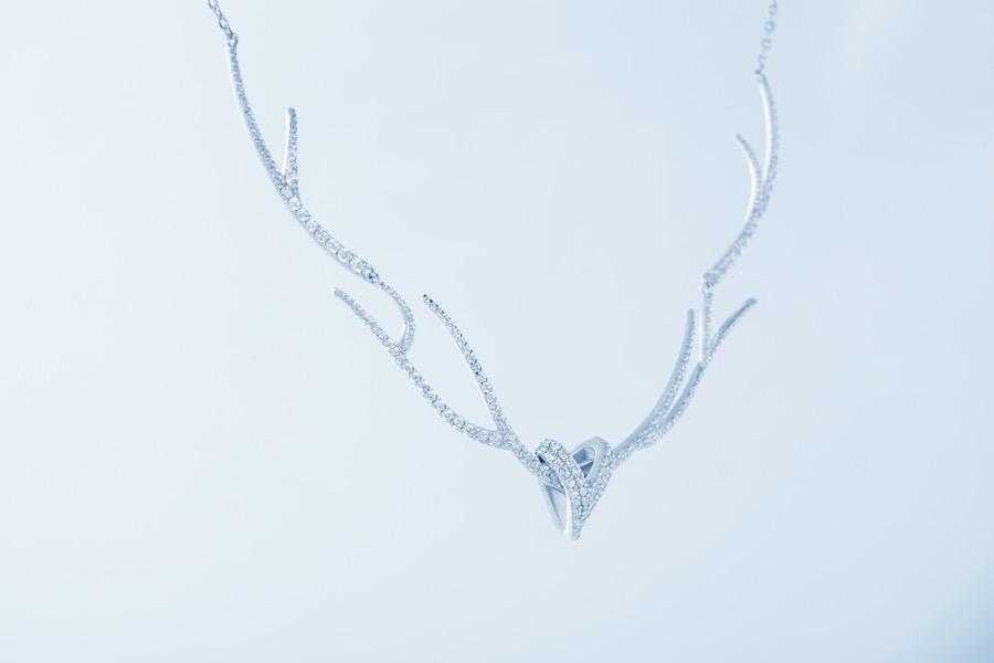 Deer Luna grace d necklace 2