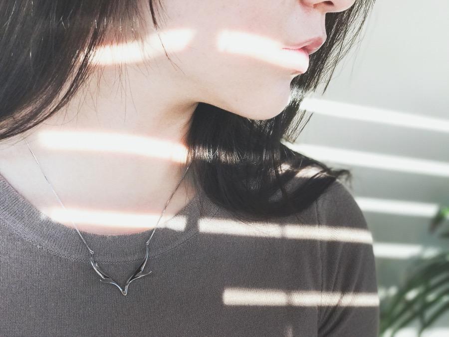 Deer Luna elk necklace w4