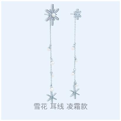 Snowflake-frostwork-earring