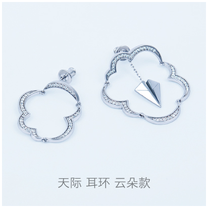 Skyline-cloud-earring